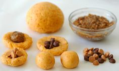 Sweet potato-gulab jamun dough, coconut fudge, chocolate and butterscotch chips