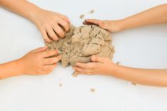 Find Creative Gifts at Uncommon Goods - One of my GO-TO sites for gift shopping @UncommonGoods This Kinetic Sand is SO fun and the kids and grandpa loved it!