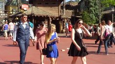 #DapperDay The annual Dapper Day consists of park goers dressed in their vintage finest taking over Disney World, transporting it to the past for a truly wonderful experience.