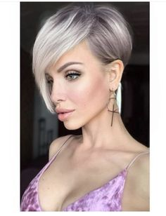 Pixie hair style Tutorial by Emily Anderson Styling. Daily Hairstyles, New Haircuts, Pixie Hairstyles, Hairdos, Medium Hair Styles, Short Hair Styles, Blonde Pixie Haircut, Follow Insta, Short Hair Cuts