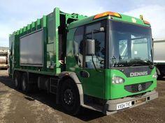 DENNIS garbage collector truck