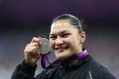 Valerie Adams (Shot Put, New Zealand) - I know you're disappointed, but we're still damn proud of you!