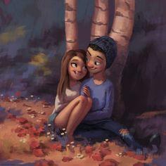 15 Ilustrações cativantes que contam a todos nós sobre o amor