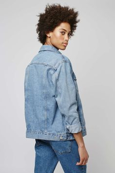 TALL Oversize Denim Jacket - Topshop
