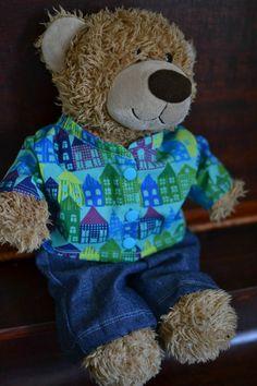 Free teddy bear jacket pattern for 16in. bears