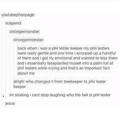 Alrighty then<<< I can believe Phil is Jesus