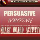 This Smartboard (Whiteboard) file covers persuasive writing.  54pages It includes a persuasive writing outline planner.  Also included are pros and...