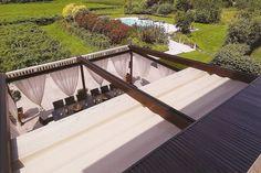 retractable pergola roof diy | Retractable Roof Pergola image search results