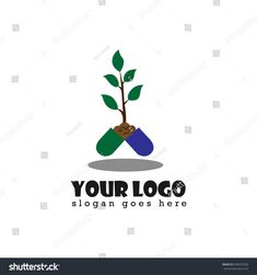 Herbal medicine design logo