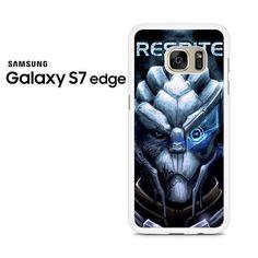 Mass Effect 3 Garrus Facr Respite Samsung Galaxy S7 Edge Case