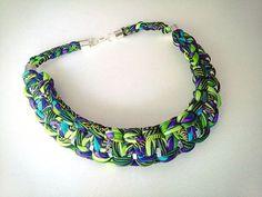 Nowe metallove #handmade #necklace #rockowy #rękodzieło #naszyje #naszyjnik #cotton #fullcolors #multicolor #feriabarw #pawieoczy #colors #ilovecolors #accesories #dodatki #women