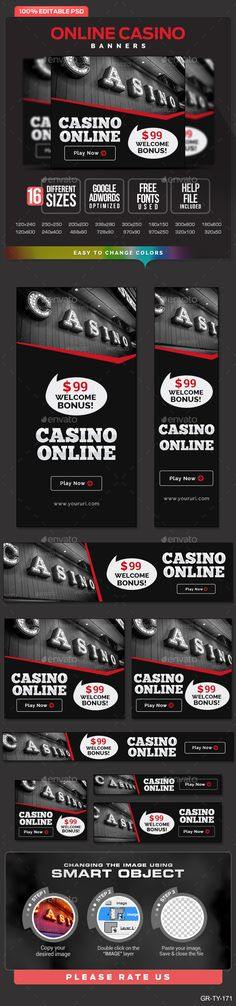Online Casino Banners