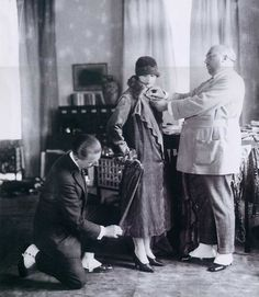 Paul Poiret et Coco Chanel