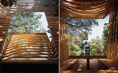 Cedar Pavilion by Paul Raff Studio