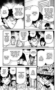 Read Detective Conan Chapter 121 online for free at MangaPanda. Real English version with high quality. Fastest manga site, unique reading type: All pages - scroll to read all the pages Comic Template, Manga Detective Conan, Revelation 1, Manga Sites, Read Free Manga, English, Lettering, Comics, Reading