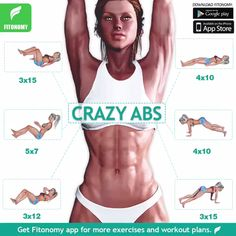 Best 20 Minute Abs Workout – Beginners Exercise At Home Best Ab Workout, Abs Workout Routines, Yoga Routine, Workout Challenge, Workout Videos, Gym Workouts, At Home Workouts, Workout Abs, Abdominal Workout