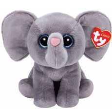 TY Classic Beanie Baby Medium Whopper the Elephant Soft Toy