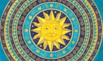 ❤~Padre Sol Mandala ~❤ by Jewelfly on deviantART Sun Mandala, Mandala Art, Tangled Sun, Pictures Of The Sun, Good Day Sunshine, Mandalas Drawing, Zentangles, Sun Moon Stars, Sun Designs