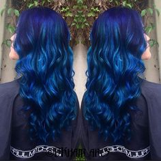 DIRECTIONS NEON BLUE blacklight hair dye - Google Search