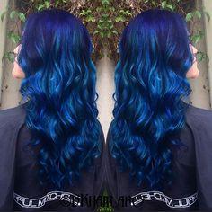Sapphire Hair Color