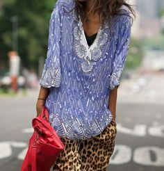Fabulous Details: Beaded Extreme... beaded and sequin outfits