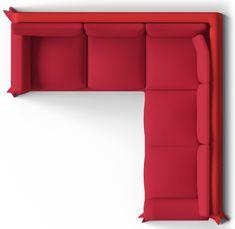 BIM objects Ektorp Seat Corner Bed Sofa Top