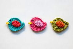 Crochet little birds