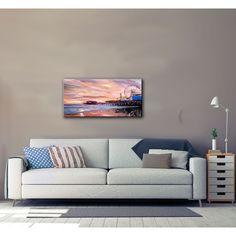 ArtWall Markus Bleichner 'Santa Monica Pier at Dusk' Gallery Wrapped