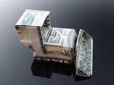 Dollar+Bill+Origami+Bulldozer+by+craigfoldsfives.deviantart.com+on+@deviantART