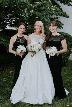 Ivory Wedding, Bridesmaid Dresses, Wedding Dresses, Wedding Planning, June, Elegant, Gold, Beautiful, Black