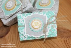Verpackung Stampin Up Box Goodie Schachtel Give Away Gift Idea 037