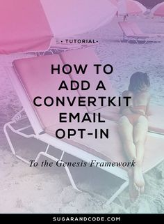 This tutorial will show you how to add a email newsletter opt-in form to the Genesis Framework to start growing your audiences email list.