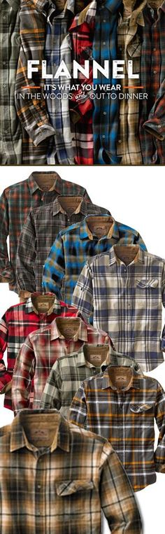 Definitely a flannel guy lol wear them all the time at work!