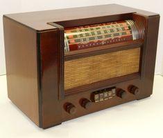 Gorgeous Vintage 1939 General Electric Wood Tube Table Radio Restored Works | eBay