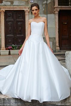 STEPHANIE ALLIN bridal 2017 strapless sweetheart beaded bodice ball gown wedding dress (verona) fv #bridal #wedding #weddingdress #weddinggown #bridalgown #dreamgown #dreamdress #engaged #inspiration #bridalinspiration #weddinginspiration #weddingdresses #ballgown