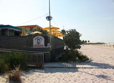 Sloppy Joe's on the Beach, Gulf Blvd.,Treasure Island, FL .... a favorite when we're in town.  This photo's from the beach side, right on   the Gulf of Mexico ... great view from their spacious deck ... and a fun atmosphere including live music.  And the last time we were there, there 2 wedding receptions being held in tents on the beach right next door ... really added to the festive environment.