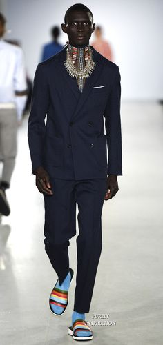 Casely-Hayford SS2017 Menswear | Purely Inspiration
