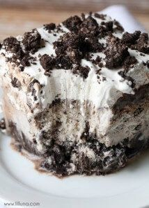Oreo Ice Cream Cake | Lil' Luna