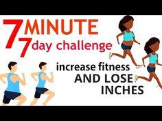 7 minute workout - 7 day challenge to increase your fitness - health and. 8 Minute Workout, 7 Day Workout, Hotel Workout, Home Workout Men, Workout Videos, 7 Day Challenge, Workout Challenge, Workouts For Teens, At Home Workouts