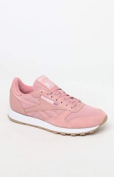 df663304e22a6 Reebok Classic Leather ESTL Shoes. Reebok Classic Leather Pink and White ...