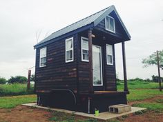 I'm excitedto share how this man is now legally living in his 84 sq. ft. tiny home on wheels on a foundation in Spur, Texas. And he's doing it in his 7' x 12' tiny house on wheels that was built b...