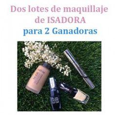 Dos lotes de maquillaje de ISADORA para 2 Ganadoras ^_^ http://www.pintalabios.info/es/sorteos-de-moda/view/es/4933 #ESP #Sorteo #Maquillaje
