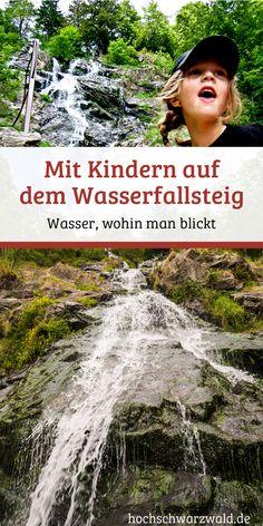 Wandern mit Kindern: Auf dem Wasserfallsteig am Feldberg kann man ein perfektes Wanderwochenende mit Kindern verbringen und die Wasserfälle im Schwarzwald bewundern.