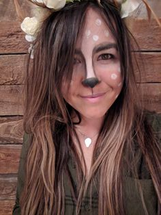 Deer Makeup, Halloween, Spooky Halloween
