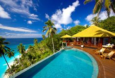 Private Islands Seychelles  Rock Spa