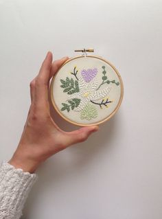 Spring Wild Bloom Embroidered Hoop, Hoop Art, Wall Art, Embroidery, Gift, Hoop, Artworks, Coin Purse, Easter, Embroidery, Wall Art, Spring, Unique Jewelry, Handmade Gifts