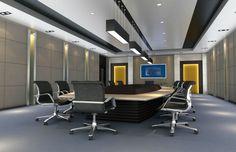 Diseño de interiores de oficinas modernas
