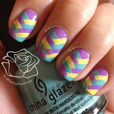 Instagram photo by    paintingrosespurple #nail #nails #nailart