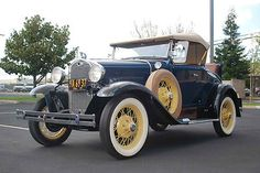 Ford : Model A Deluxe Roadster 1931 Ford Model A S - http://www.legendaryfinds.com/ford-model-a-deluxe-roadster-1931-ford-model-a-s/