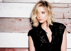 Ashley Benson at the becomewithus photoshoot !  I love her and this pic is awesome, her shirt is also nice